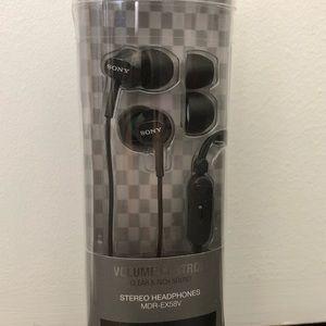 New unopened Sony Headphones